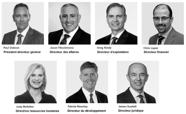 Comité de direction Hydro One