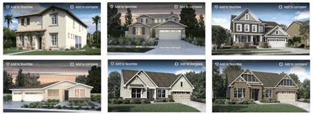 Exemples de biens immobiliers réalisés par Lennar Corporation