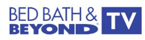 Bed Bath & Beyond TV logo