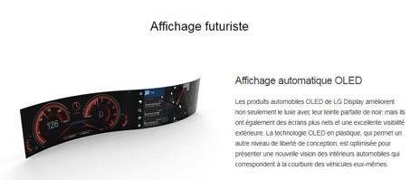 LG Display Affichage futuriste