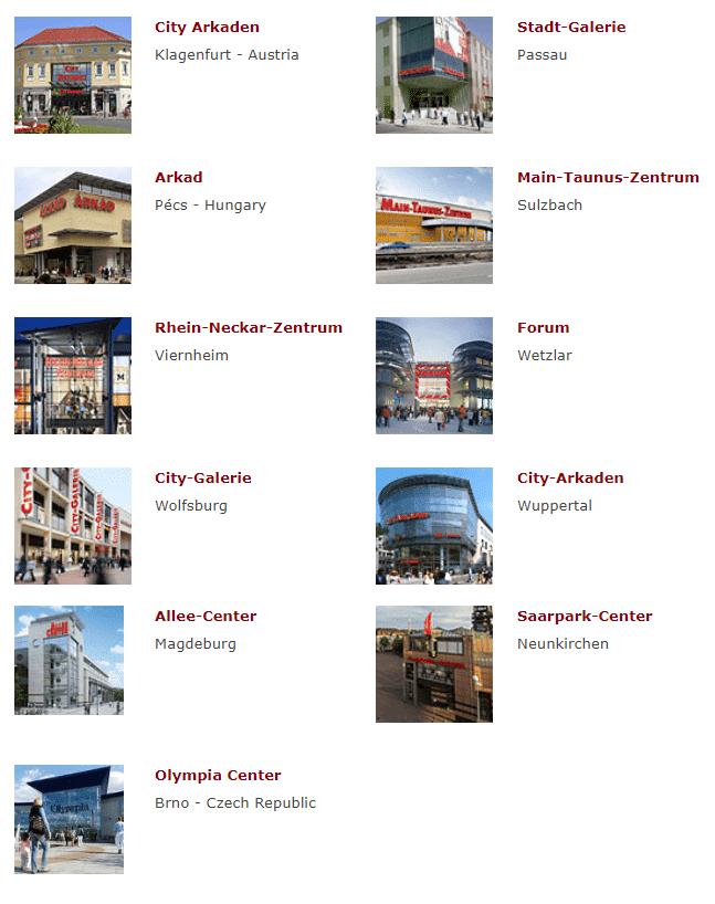 liste centres euroshop 2