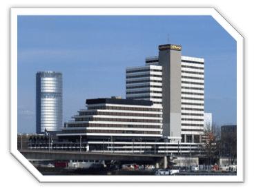 Siège social de la Lufthansa, Cologne, Allemagne
