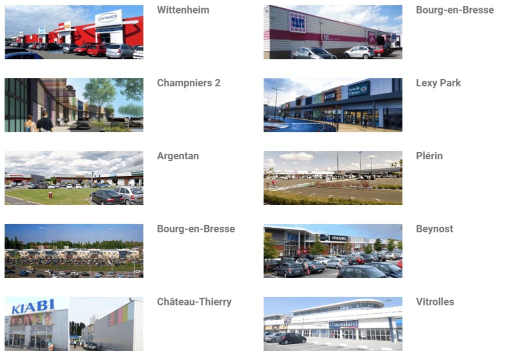 Patrimoine & Commerce zones