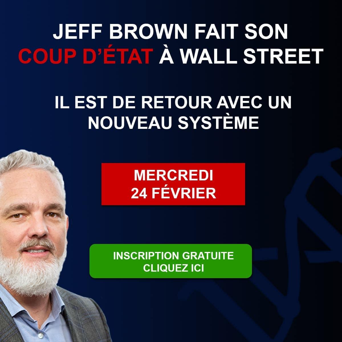 Jeff Brown coup d'état