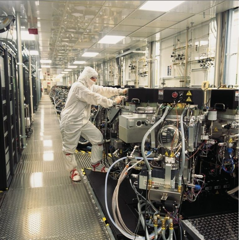 Usine de fabrication de puces Micron Technology