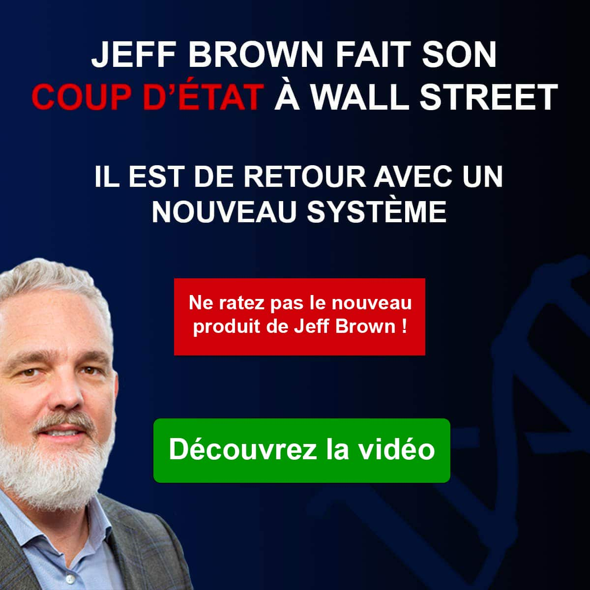 Offre Jeff Brown