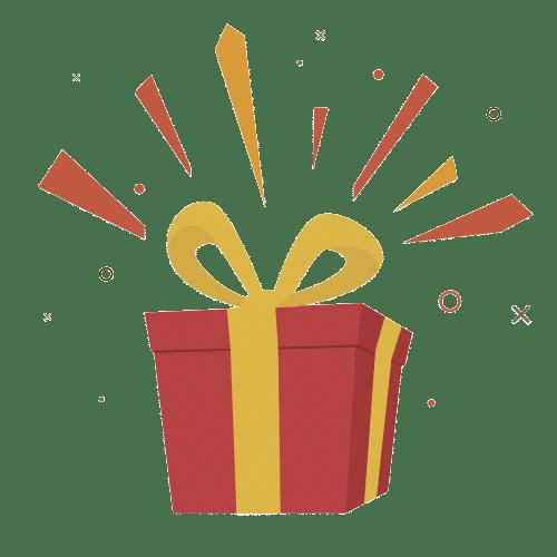 cadeau 3 actions